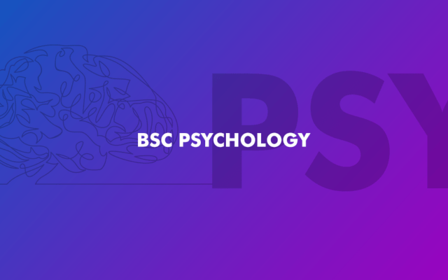 BSc Psychology | New | Academic Year 2020/21