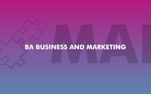 BA Business and Marketing | New | Academic Year 2020/21