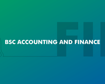 BSc Accounting and Finance
