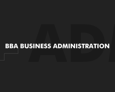BBA Business Administration