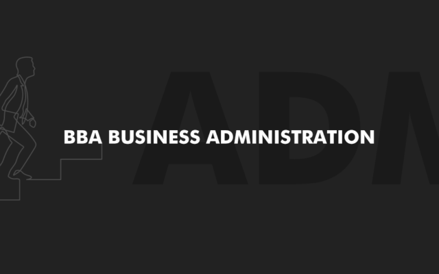 BBA Business Administration | New | Academic Year 2020/21