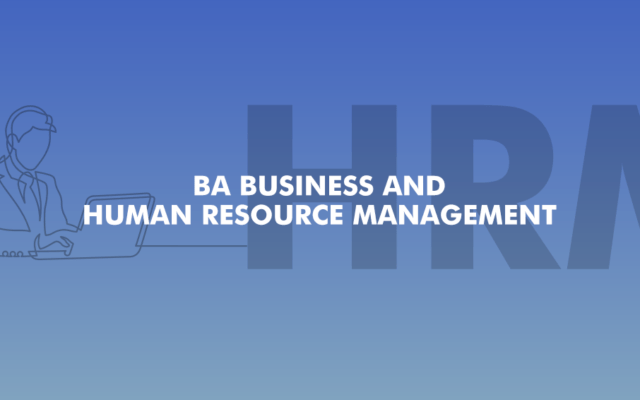 BA Business and HR Management | New | Academic Year 2020/21