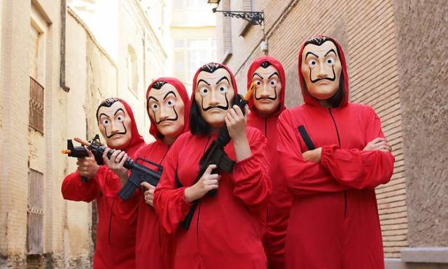 Le Casa De Papel 'Aka Money Heist ' Costume