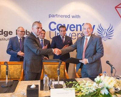 The Partnership Agreement Between El Sewedy Education And Coventry University