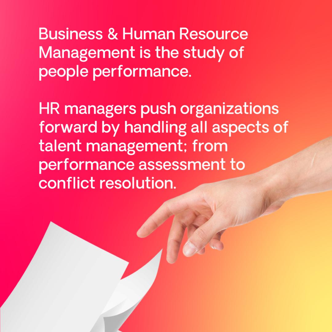 ba human resource management