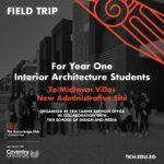 Interior Architecture Students visit to Midtown Villas – New Capital