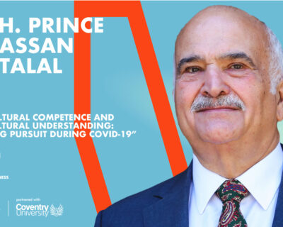 TKH School of Business | H.R.H. Prince El Hassan Bin Talal of Jordan