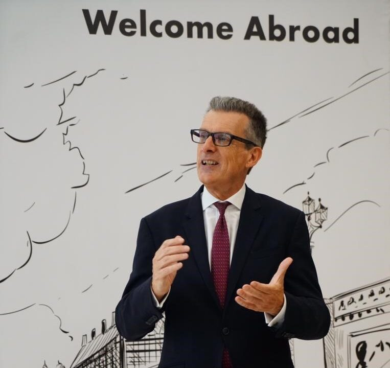 British Ambassador visits TKH-Coventry University Branch in New Capital
