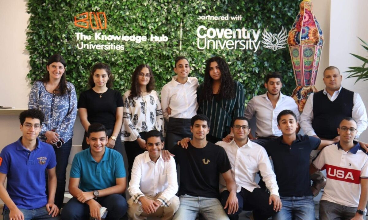 TKH-Coventry Students accepted to compete in the fourth round of Tatweer Misr Innovation Competition