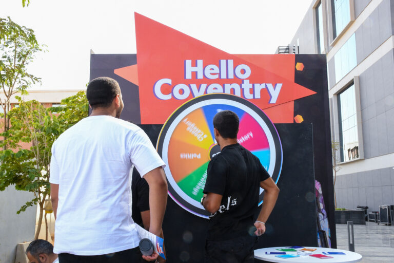 Hello Coventry! a fun pre-orientation day full of activities, games, and prizes.